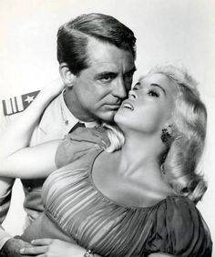 Cary Grant and Jayne Mansfield | #actor #actress #people