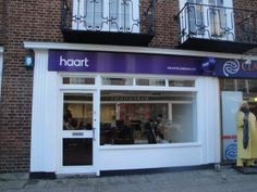 haart lowestoft fret cut led illumination on all text with led