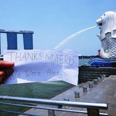 from Singapore with love.. kapan giliranmu? ^_^ #tour #holiday #singapore