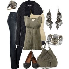 """Sage Green Casual Style"" by smores1165 on Polyvore"