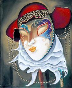 Bimbi: Velencei maszk I - Vándorfény Galéria