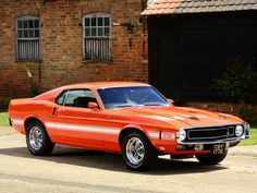 1970 Ford Mustang Shelby GT500 by ~Vertualissimo on deviantART