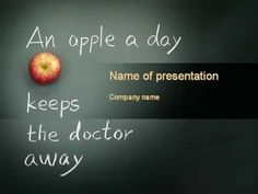 Health Advice PowerPoint Template - http://www.youtube.com/watch?v=9tSxTxlL54Q