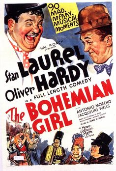 The Bohemian Girl is a 1936 feature film version of the opera The Bohemian Girl by Michael William Balfe. It was produced at the Hal Roach Studios, and stars Laurel and Hardy and Thelma Todd in her last role before her death.