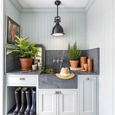 Fresco, Mudroom Cabinets, Kitchen Design, Kitchen Decor, English Kitchens, Plain English Kitchen, Small Laundry, Bronze, E Design