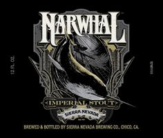 Sierra Narwhal Imperial Stout- my new FAV winter brew