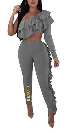 M/&S/&W Women 2 Pieces Outfit Long Sleeve Casual Hoodie Tops and Pants Tracksuits