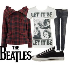 someone else's polyvore creation, but must say i like it.