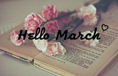 Aquele Cantinho...: Olá Março!