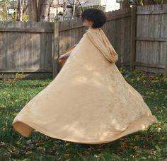 Cloak Cape -  Gold Velvet by CloaknDragon on Etsy https://www.etsy.com/listing/114856960/cloak-cape-gold-velvet