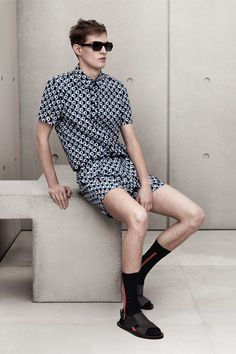 <3 the matching and those sandals. From Marni for H&M. #marni #hm