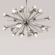I'd put this Jonathan Adler sputnik chandelier in every room of my house and probably even the garage.