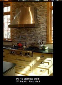 Kitchen Backsplash Stone 20 inspiring kitchen backsplash ideas and pictures | black
