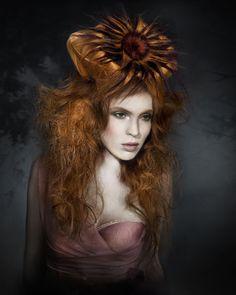 Avant garde hair by Indira Schauwecker.
