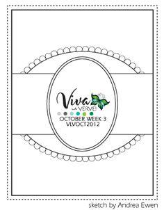Viva La Verve! October 2012 Week 3 Card Sketch {10/12/12}