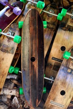 Handmade Skateboards From Wine Barrels: The Barrel Board Experience Project Recycled Sports Equipment Barrel Projects, Wood Projects, Woodworking Projects, Automotive Furniture, Automotive Decor, Handmade Furniture, Rustic Furniture, Furniture Design, Pallet