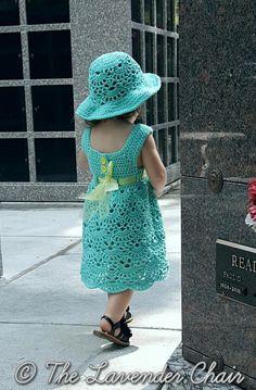 Lacy Shells Dress | AllFreeCrochet.com
