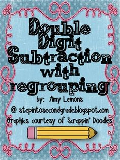 Whether you are just starting to teach subtraction with regrouping, or your students are reviewing, this download has lots of activities your stude...