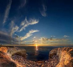 San Diego's Sunset Cliff