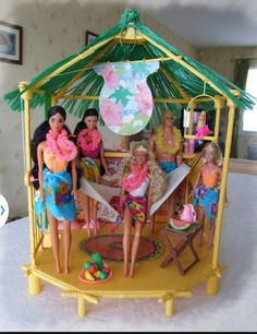 Bubgalow tropical, Barbie.