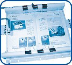 Blattwendegeräte erlauben das selbstständige Lesen von Printmedien. Es gibt sie in verschiedenen Ausführungen, z.B. für Zeitungen oder Bücher. Die Systeme können über verschiedene Sensorarten bedient werden, je nach Anforderung des Patienten.