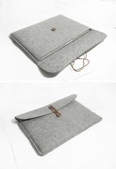 """Macbook pro 15"""" Retina Macbook Sleeve Wool Felt Custom Made Felt Case Cover Bag for Macbook pro 15""""Retina -B20371. $31.00, via Etsy. Do you want to make your own a personalized #LaptopSleeve? Follow @CutePhoneCases to see more #DIY #LaptopSleeves for #Laptop"""