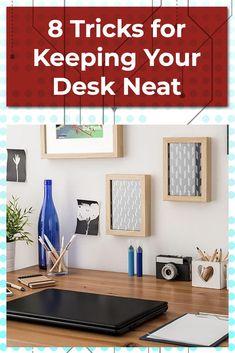 Cord Organization, Organizing, Neat Desk, Birth And Death, Desk Areas, Work Desk, Getting Organized, Clutter, Planners