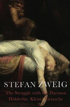 A brilliant analysis of the European psyche. Zweig studies three giants of German literature + thought: Friedrich Holderlin, Heinrich von Kleist + Friedrich Nietzsche: powerful minds whose ideas were at odds with the scientific positivism of their age; troubled spirits whose intoxicating passions drove them mad but inspired them to great works. Zweig reflects on the conflict at the heart of the European soul between science and art, reason and inspiration.