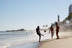 Salvador-Bahia-Brasil - Farol da Barra ao fundo Foto: Flickr/David Campbell (CC)