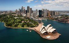 14: Sydney Opera House, Australia  Picture: ALAMY