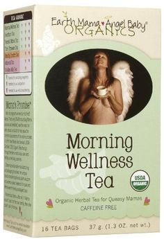 EARTH MAMA ANGEL BABY TEAOG1MORNING WELLNESS 16 CT ** To view further for this item, visit the image link.