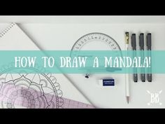 How to Draw a Mandala - YouTube