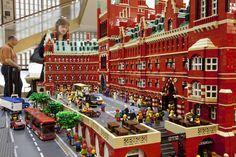 LEGO st Pancras by Warren Elsemore © Ed Marshall