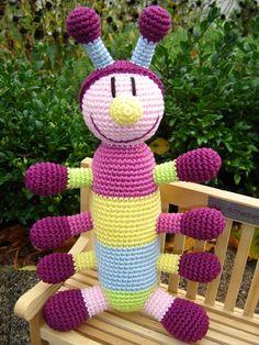 Rika - crochet caterpillar ♥