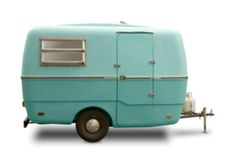 One day I'll buy a cute turquoise RV and just take off.