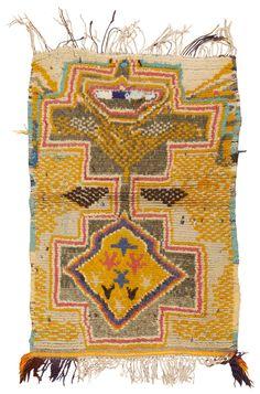 Vintage Moroccan Rug ,