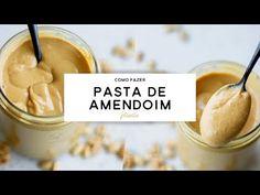 PASTA DE AMENDOIM - como fazer em casa | PLANTTE - YouTube Dairy Free Recipes, Vegan Recipes, Vegan Food, Cupcakes, Baking Ingredients, Going Vegan, Cookie Dough, Free Food, Cereal
