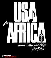 We are the World Partitura Fácil en Clave de Sol, Fa y Do Easy Sheet Music Usa for África de Michael Jackson y Lionel Richie