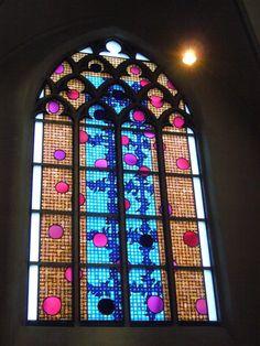 Cath. Church St. Nicolai Kalkar Germany - DERIX GLASSTUDIOS Taunusstein