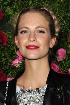 Poppy Delevingne Braided Updo