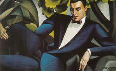 Vampiro de emociones - Portrait du Marquis D'afflitto. Tamara de Lempicka, 1925