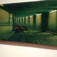 Green Tunnel by Jane Dickson