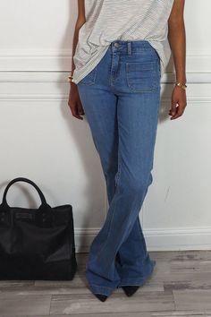 Le jean bootcut At the Vanessa Bruno sur Shopnextdoor.fr ;)