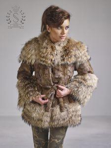 Fur coat. Unique, handmade fur coat. Fur Stevanovic. New ...