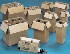 f20001ec442 The largest selection of wine shipping boxes  - from one to twelve bottle  shippers for