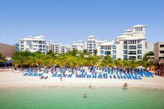 The Mediterranean style Occidental Costa Cancún is next to the Caribbean sea with spacious rooms and views of Linda Beach. Cheap All Inclusive, All Inclusive Beach Resorts, Cancun Vacation, Costa, Thing 1, Travel Dating, Tour Operator, Caribbean Sea, Round Trip