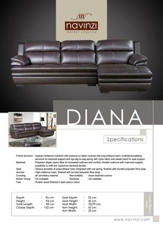 diana Sofa, Couch, Diana, Divider, Furniture, Home Decor, Settee, Settee, Decoration Home