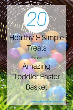 101 non candy easter basket ideas for toddlers easter gift baskets 20 amazing ideas for healthier treats that are so much better for a toddler easter basket negle Image collections