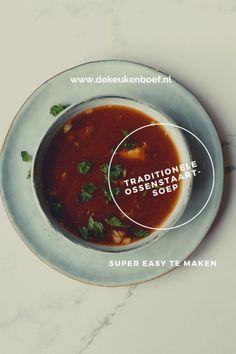 Ossenstaartsoep - wat een lekkere soep is dit!! ⋆ De keukenboef Chana Masala, Ethnic Recipes, Food, Salads, Eten, Meals, Diet