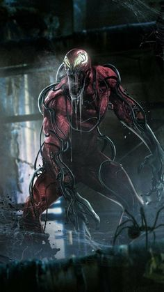 This Fan Art is made to tease the host for Carnage in the upcoming Venom 2 movie. Art by BossLogic Marvel Venom, Marvel Vs, Marvel Heroes, Venom 2, Venom Comics, Spiderman Marvel, Captain Marvel, Batman, Marvel Comics Art